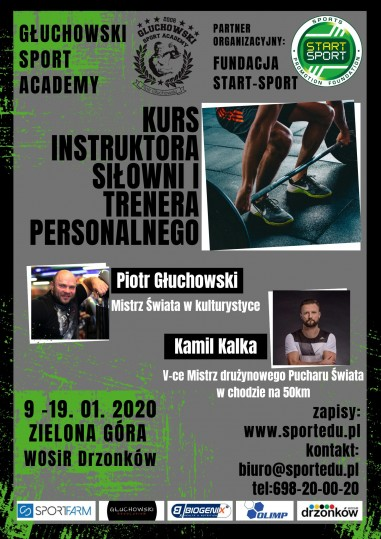 Gym Instructor - Instruktor Siłowni